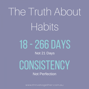 The Truth About Habits